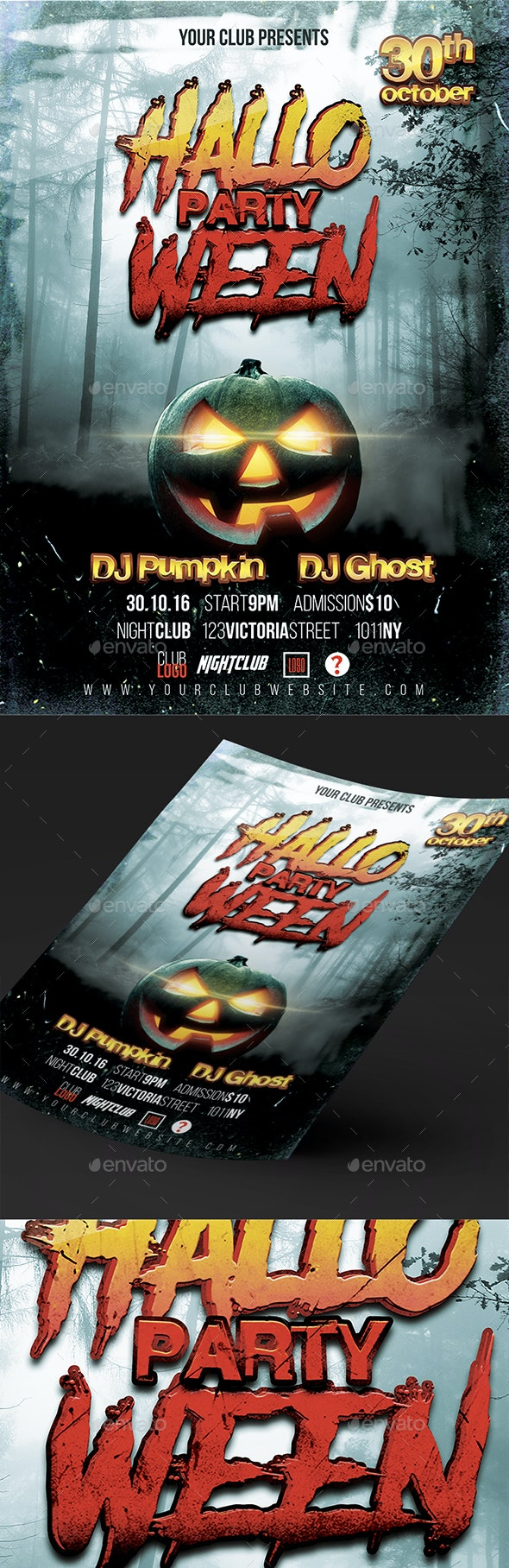 Halloween Party Poster - Posters Print