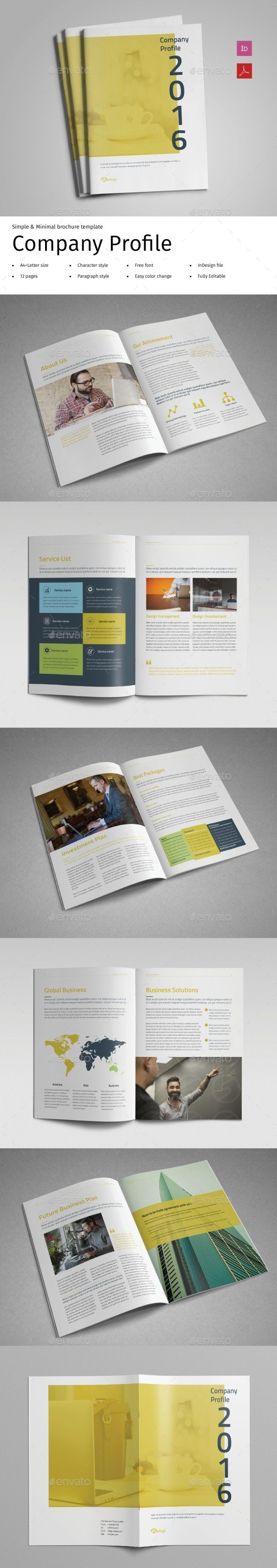 Company Profile Vol.2 - Corporate Brochures