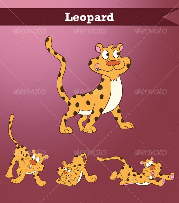 Leopard - Animals Characters