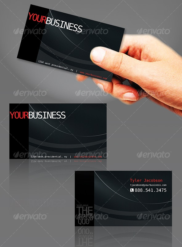 PIP Business Card - Corporate Business Cards