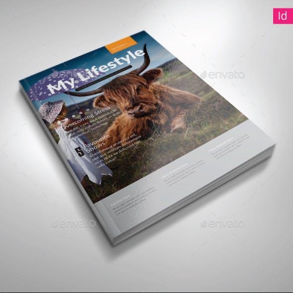 myLifestyle Magazine Template