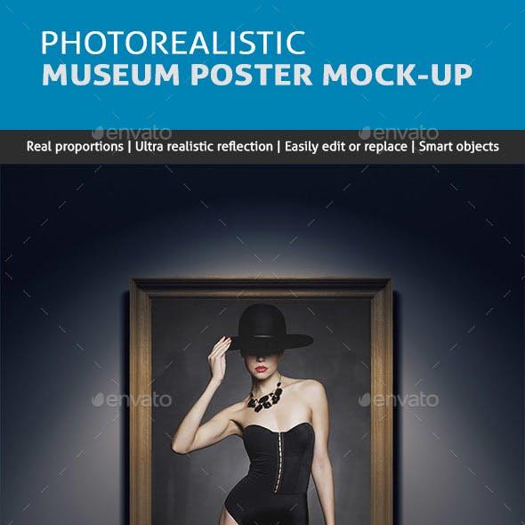 Museum / Art Gallery Poster MockUp