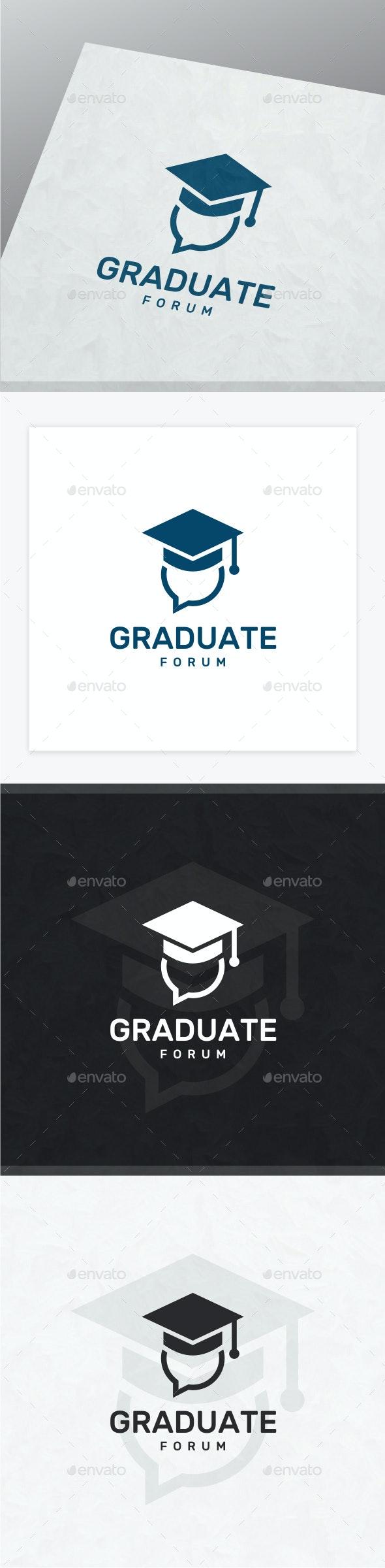 Graduate Logo - College Logo Templates