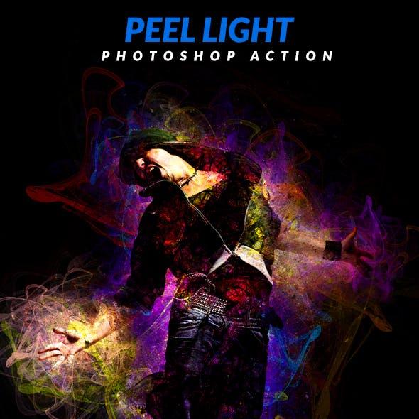 Peel Light Photoshop Action