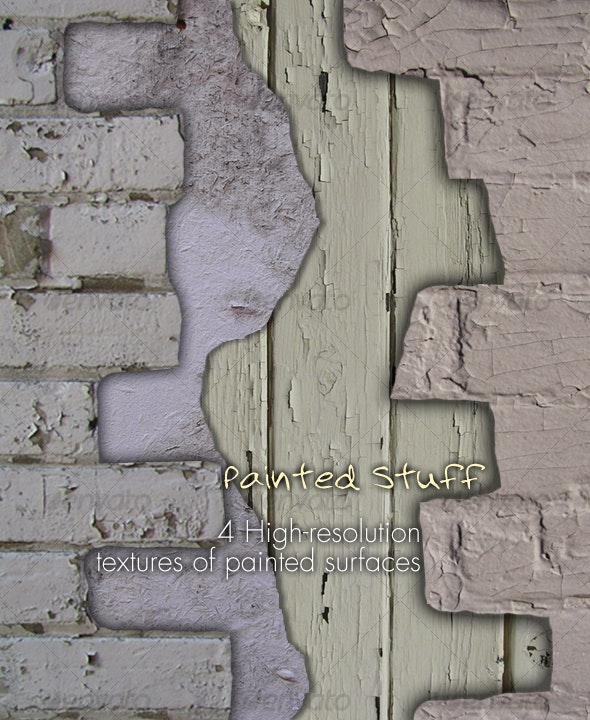 Painted Stuff - Industrial / Grunge Textures