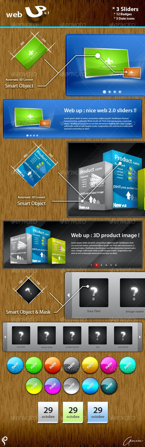 web UP v.1 - Web Elements