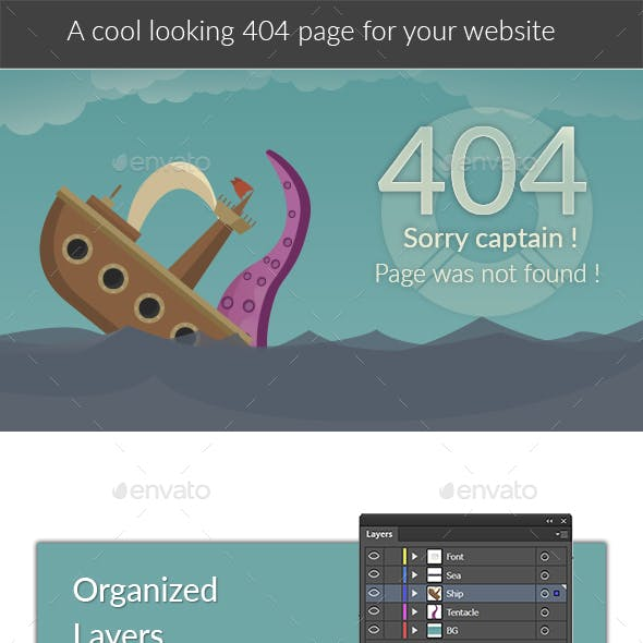 404 Page Boat