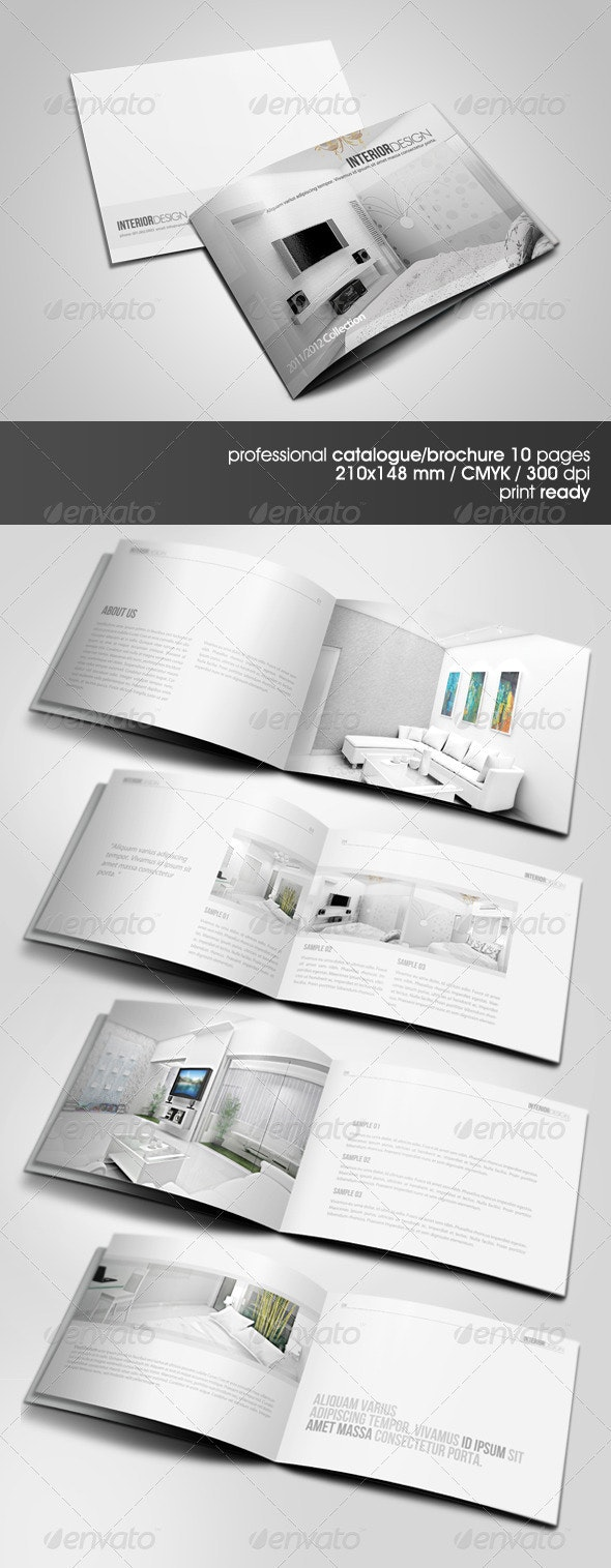 Clean & Modern A5 Catalogue - Catalogs Brochures