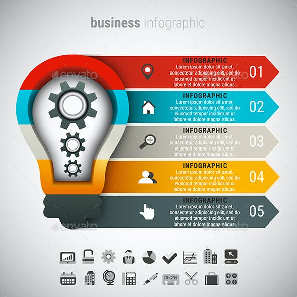 8 in 1 Business Infographics Bundle