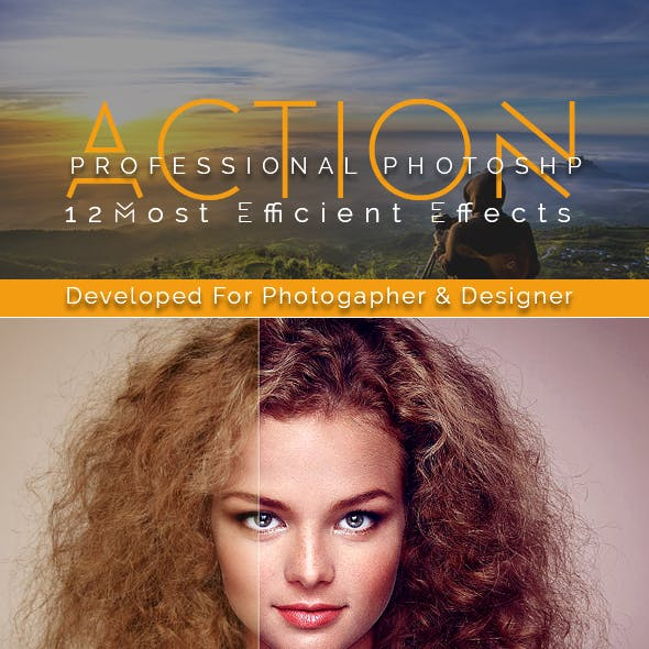 Professional Photoshp Action