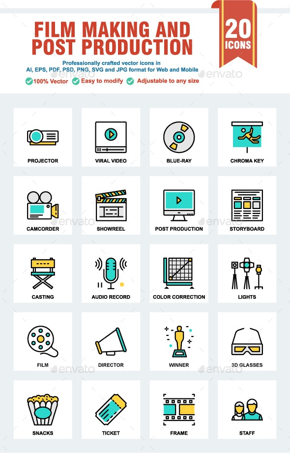 Films Making and Post Production - Media Icons