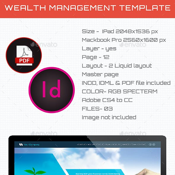 Interactive Wealth Management Template