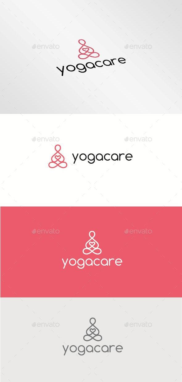 Yoga Care - Humans Logo Templates