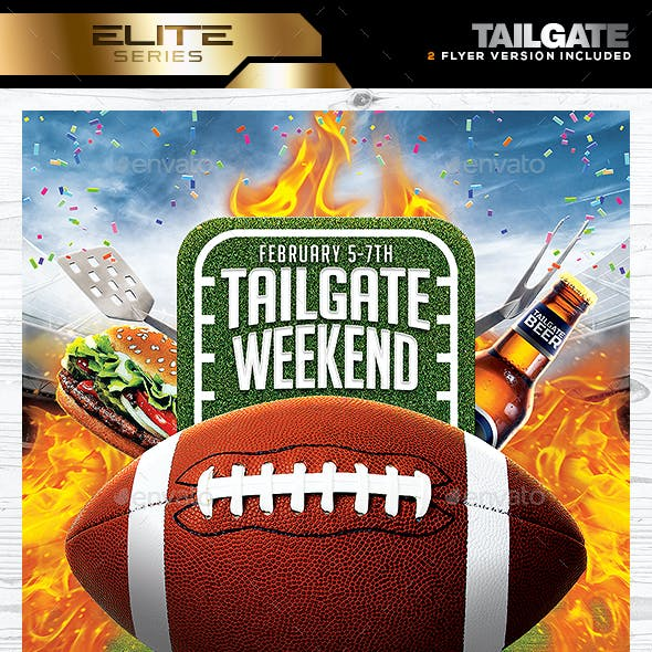 Tailgate Party Flyer Template