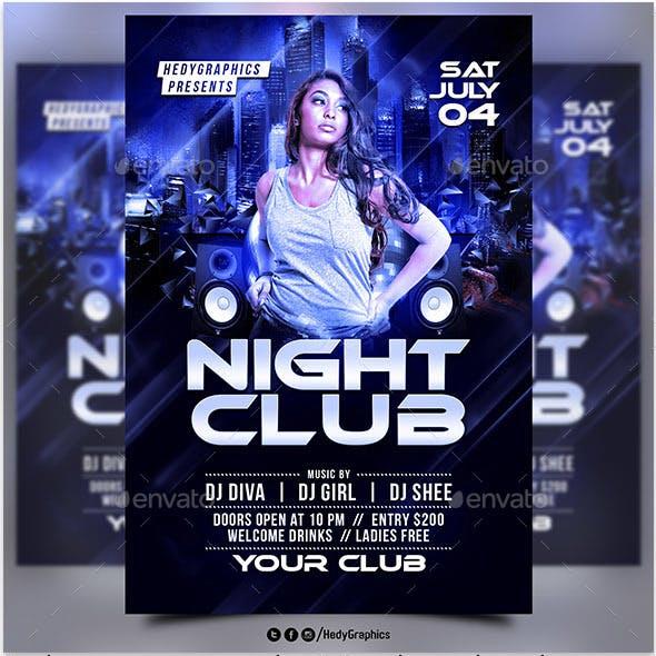 Night Club - Flyer