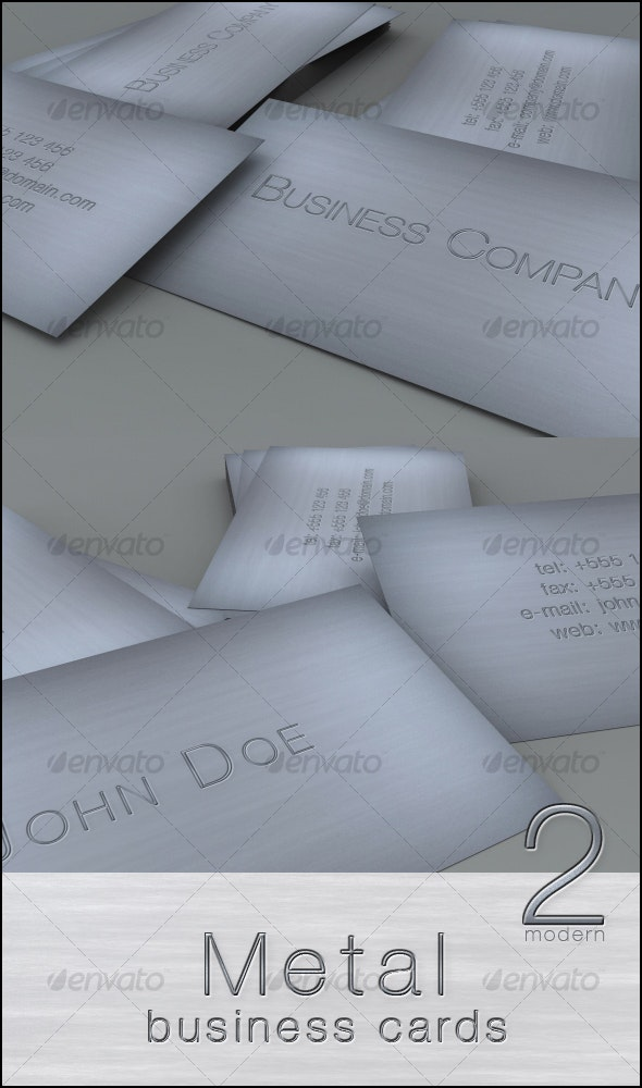 Metal business cards - Corporate Business Cards