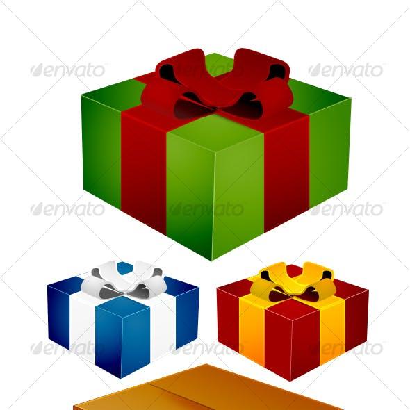 Christmas Box Icons