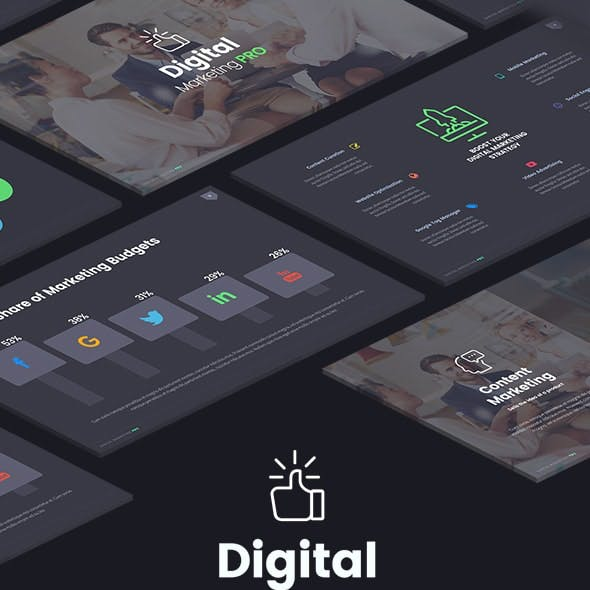 The Digital Marketing Pro - Keynote Template