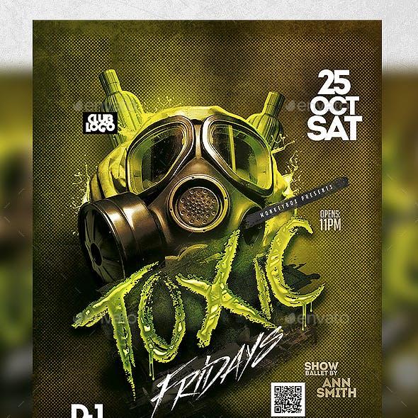 Toxic Fridays Flyer