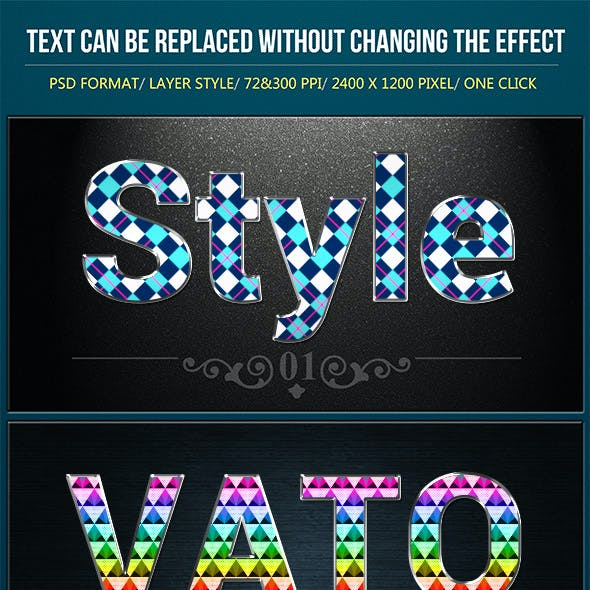 Fashion Colorful Text Effects