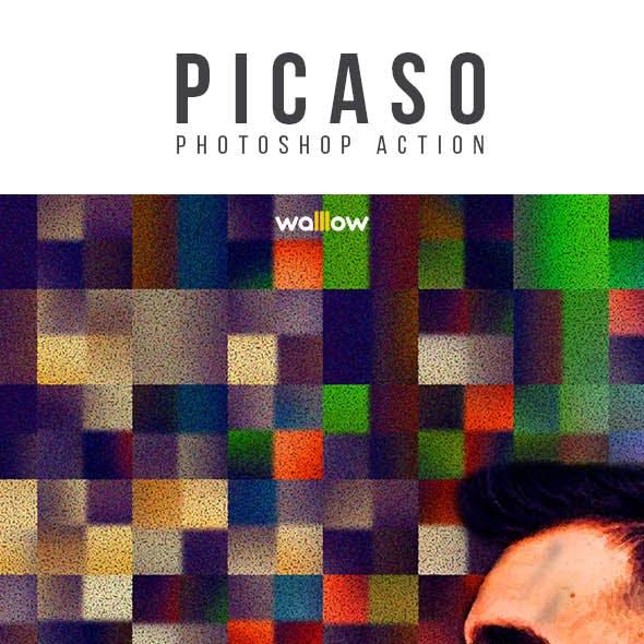 Picaso Photoshop Action