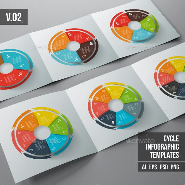 Infographics template set v.02