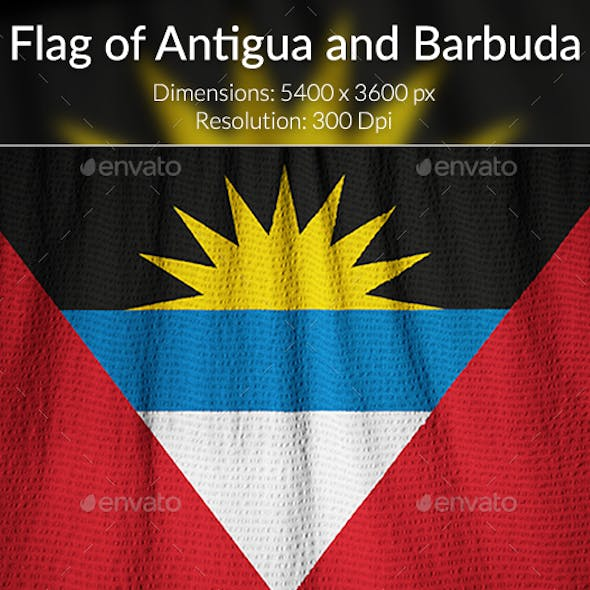 Ruffled Flag of Anguilla
