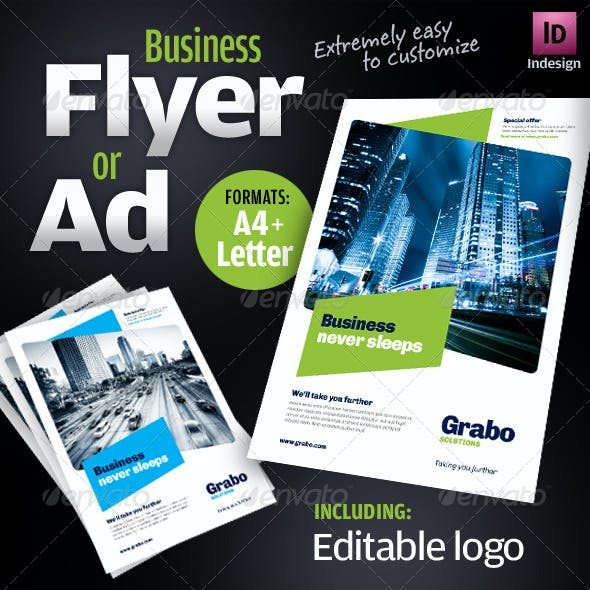 Business Flyer / Ad / Product sheet