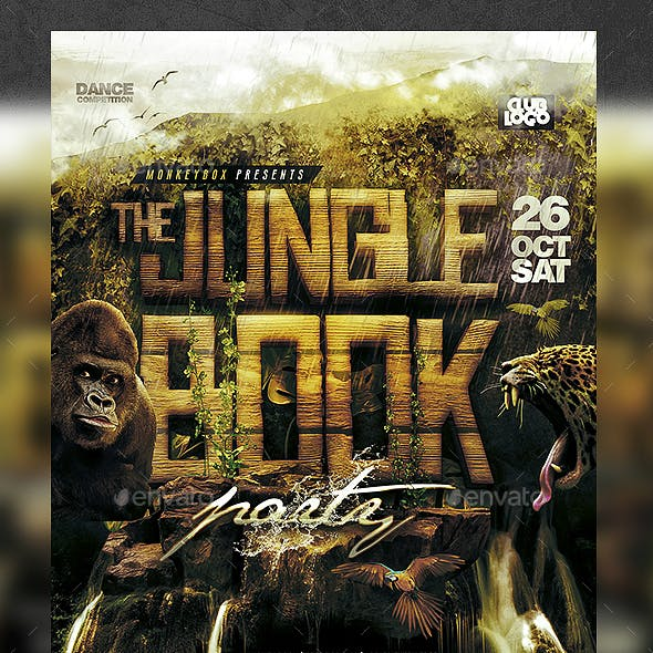 Jungle Book Flyer Template