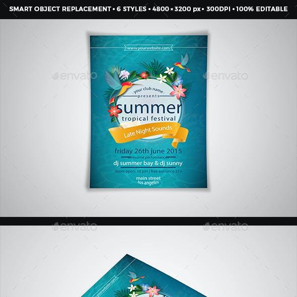 A4 Paper / Poster / Flyer Mockup Design Vol - 4