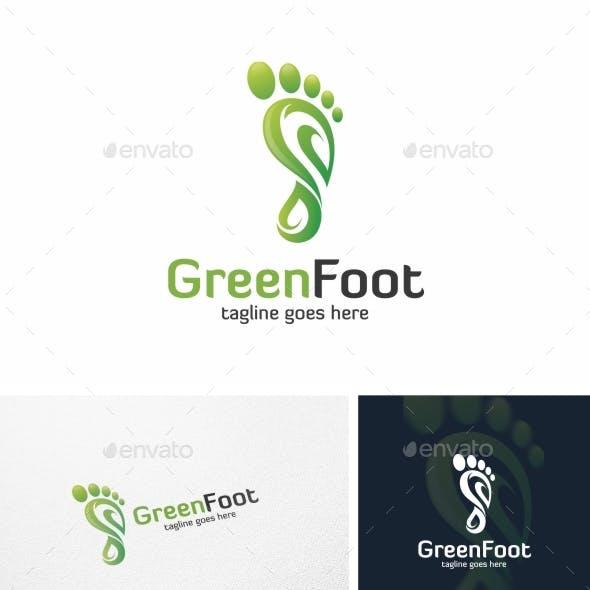 Green Foot - Logo Template