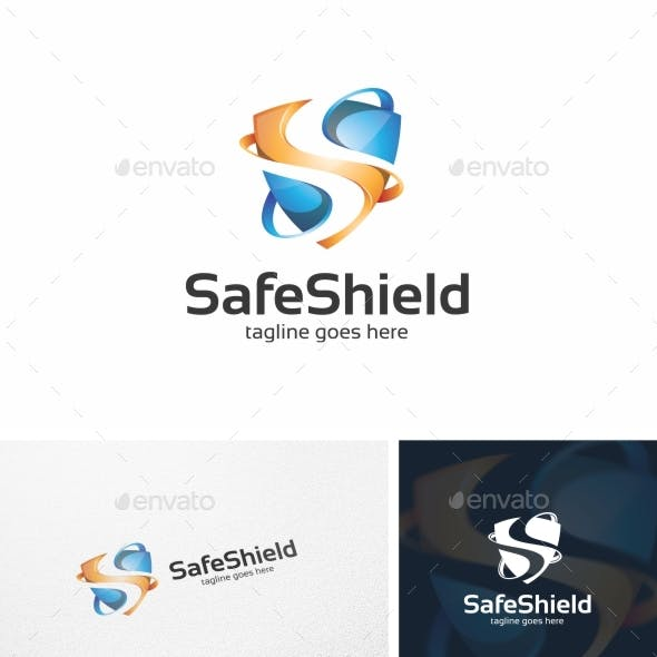 Safe Shield - Logo Template