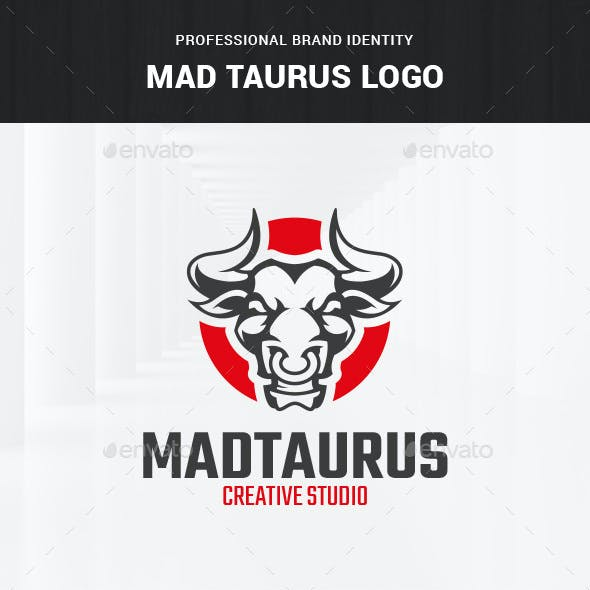 Mad Taurus Logo Template