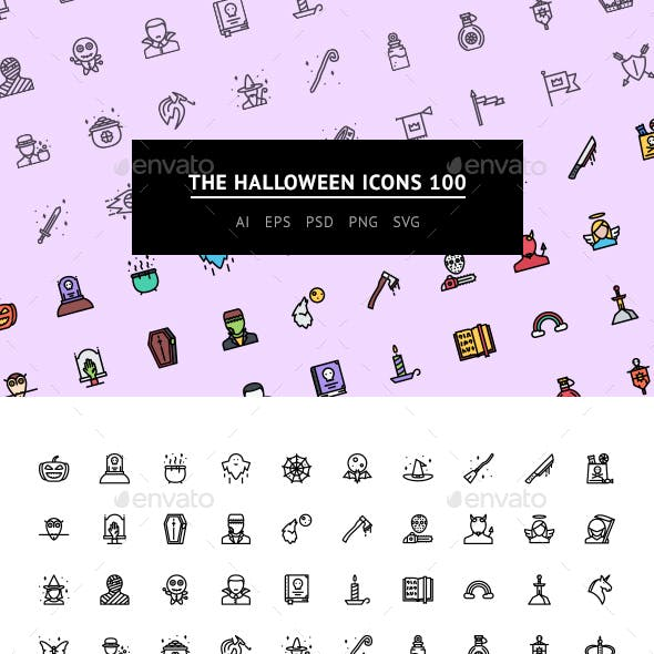 The Halloween Icons 100