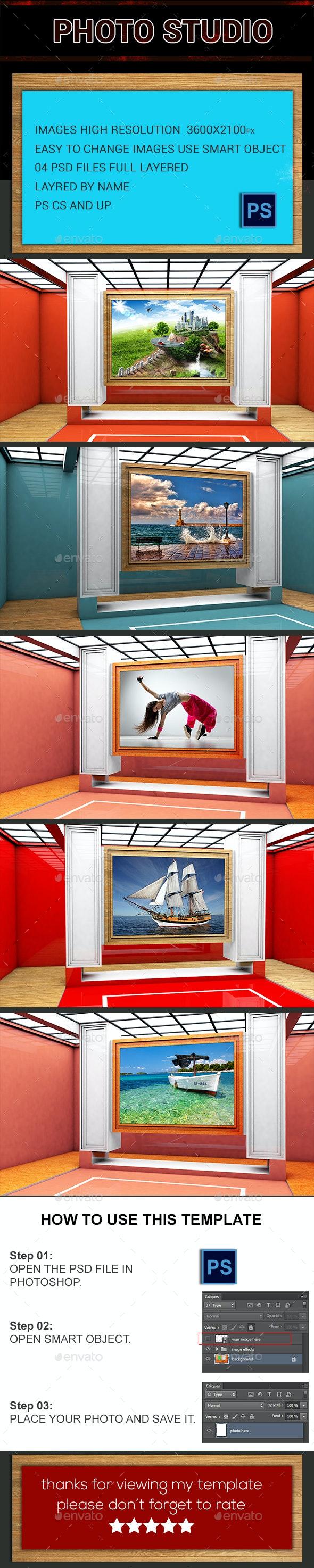 Photo Studio - Urban Photo Templates