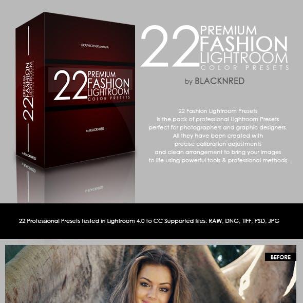 22 Premium Fashion Lightroom Presets V.1