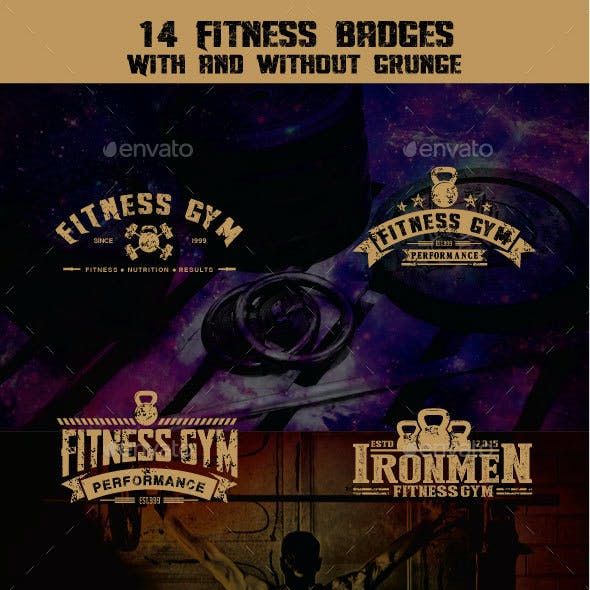 14 Fitness Badges