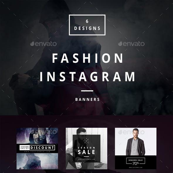 Fashion Instagram - 6 Designs