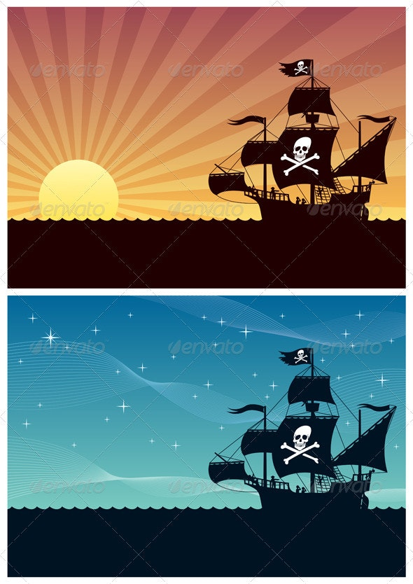 Pirate Backgrounds - Backgrounds Decorative