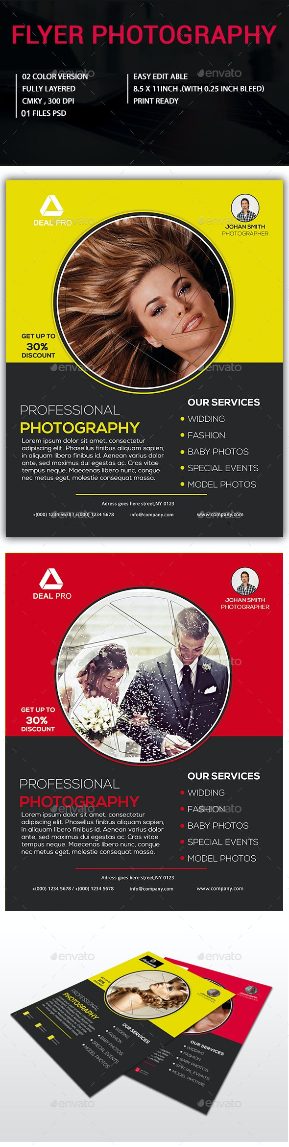 Flyer Photography - Corporate Flyers