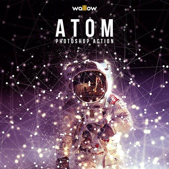 Atom Photoshop Action