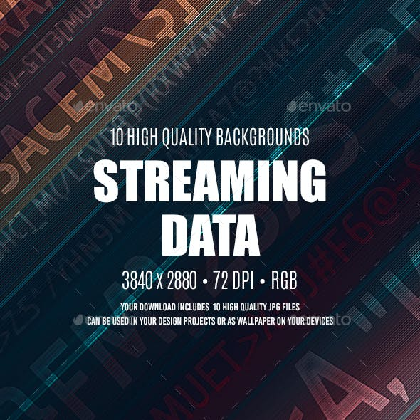 Streaming Data Backgrounds