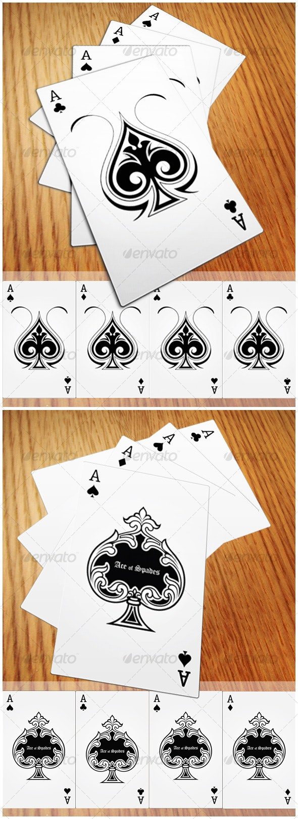 Playing Cards - Miscellaneous Vectors