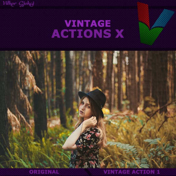 Vintage Actions X