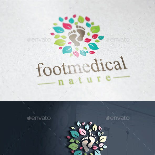 Footmedical Nature Logo