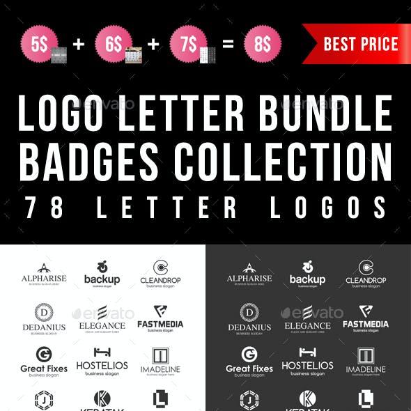Letter Logos Bundle