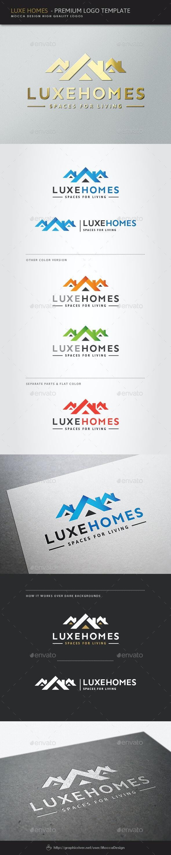Luxe Homes Logo - Buildings Logo Templates