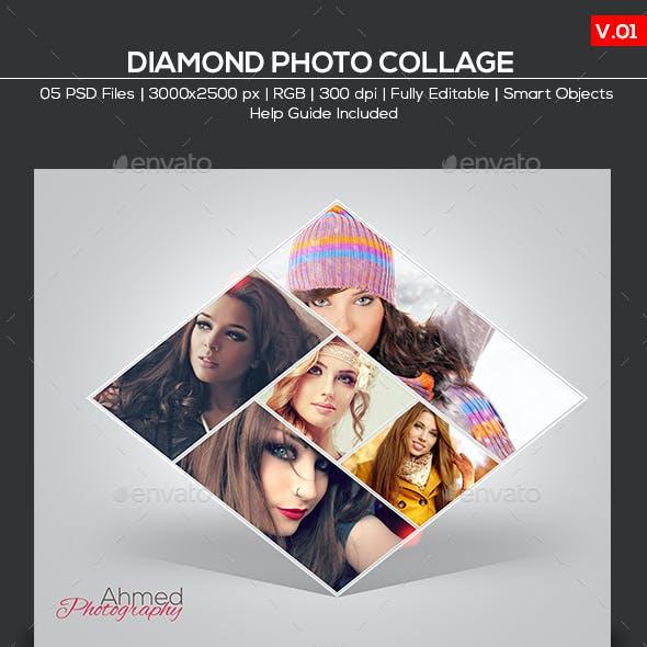 Diamond Photo Collage V.01