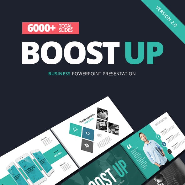 Boost Up – Business Powerpoint Template