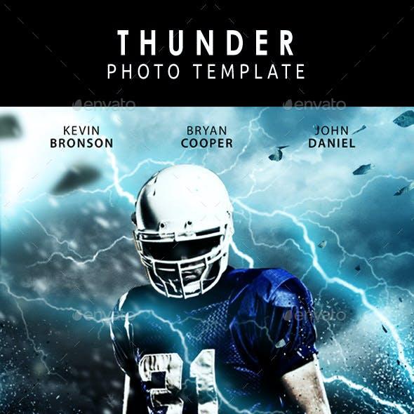 Thunder Photo Template